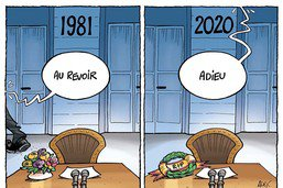 Valéry Giscard d'Estaing s'en va encore