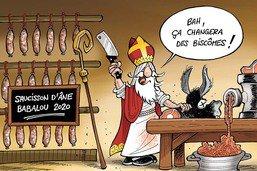 Babalou, l'âne de notre bon saint Nicolas, est mort