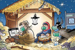 On va vers un drôle de Noël
