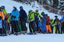 Skier à La Berra au temps du Covid