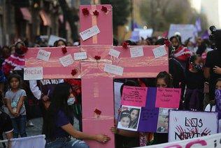 """Féminicides: le Mexique veut en finir avec le """"machisme qui tue"""""""