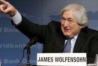 Décès de James Wolfensohn, ancien président de la Banque mondiale