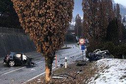Une automobiliste grièvement blessée et héliportée