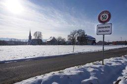 Route fermée à Barberêche