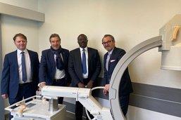 Un équipement médical offert en Afrique