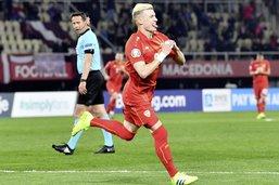 Alioski, Lion Rouge à crinière blonde