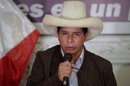 Présidentielle au Pérou: Castillo en tête à la fin du dépouillement
