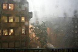 Des violents orages et de la grêle s'abattent sur la Suisse romande