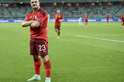 Les notes des joueurs suisses contre la Turquie