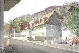 Un projet intégré à l'esprit du village de Villars-sous-Mont