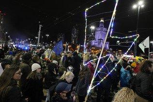 Manifestations un an après la quasi-interdiction de l'avortement